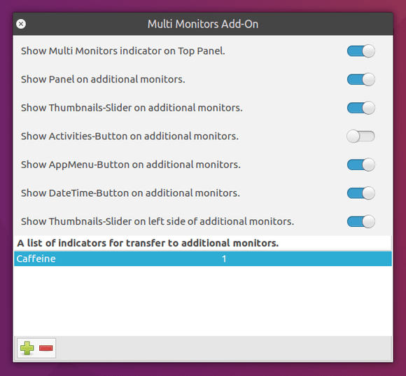 Multi Monitors Add-On
